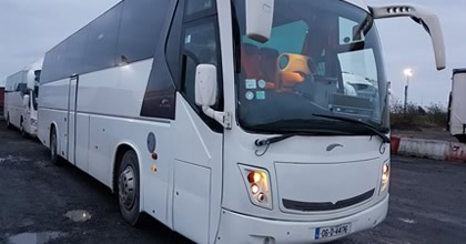 Coach Hire Dublin Airport 50 Seater